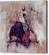 Bull Fight 009k Acrylic Print