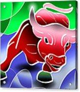 Bull Market Acrylic Print by Stephen Younts