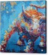 Bull Market X Acrylic Print by John Henne