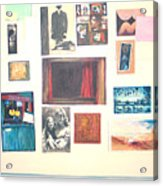 Bulletin Board Acrylic Print