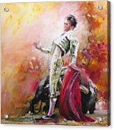 Bullfight 24 Acrylic Print