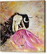 Bullfight 74 Acrylic Print