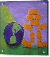 Bullion Supports The World Acrylic Print