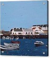 Bulloch Harbour, Dalkey Acrylic Print