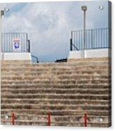 Bullring Stands In Majorca Acrylic Print
