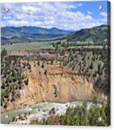 Bumpus Butte Yellowstone Acrylic Print