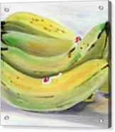 Bunch Of Bananas Acrylic Print