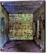 Bunker Walls Acrylic Print