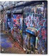 Bunkers Of Ft Wetherill Acrylic Print