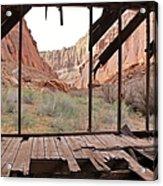 Bunkhouse View 4 Acrylic Print