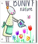 Bunny Nature Acrylic Print