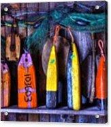 Buoys For Sale  Acrylic Print