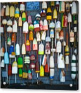 Buoys, Martha's Vineyard Acrylic Print