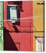 Burano Facade Acrylic Print