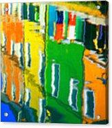Burano Reflections Acrylic Print