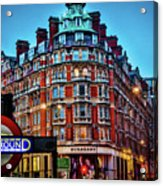 Burberry - London Underground Acrylic Print