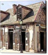 Burbon Street Blacksmith Acrylic Print
