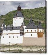 Burg Pfalzgrafenstein In Kaub Germany Acrylic Print