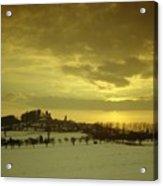 Burg Stolpen Acrylic Print