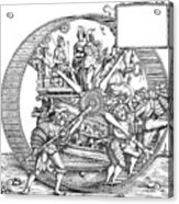 Burgkmair - Maximilian Acrylic Print