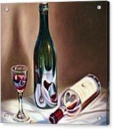 Burgundy Still Acrylic Print