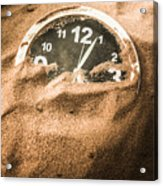 Buried In The Sands Of Time Acrylic Print