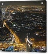 Burj Khalifa Dubai Acrylic Print