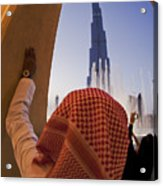 Burj Khalifa Acrylic Print