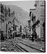 Burke Idaho Ghost Town In Its Prime Acrylic Print