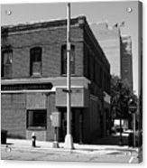Burlington, Nc - Main Street And Front Acrylic Print