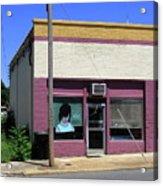 Burlington North Carolina - Small Town Business Acrylic Print