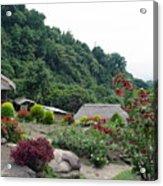 Burma Village Home Acrylic Print