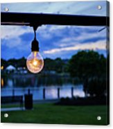 Burn Brighter Acrylic Print