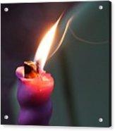 Burn Acrylic Print