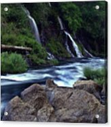 Burney Falls Creek Acrylic Print