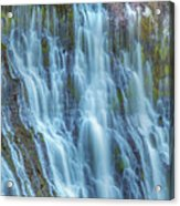 Burney Falls Detail Acrylic Print