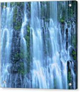Burney Falls Mist Mcarthur Burney Sp California  Acrylic Print