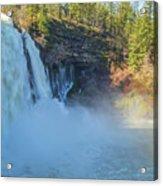 Burney Falls Wide View Acrylic Print