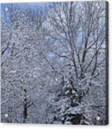 Burnidge Winter Acrylic Print