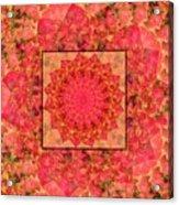 Burning Bush Floral Design  Acrylic Print