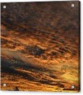 Burning Sky Acrylic Print