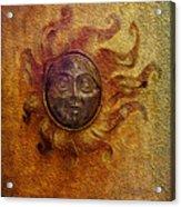 Burning Sun Acrylic Print