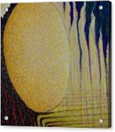 Burning Yellow Acrylic Print