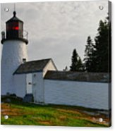 Burnt Island Lighthouse  - The Other Side Acrylic Print