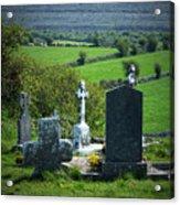 Burren Crosses County Clare Ireland Acrylic Print