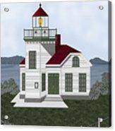 Burrows Island Lighthouse Acrylic Print