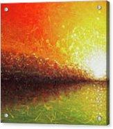 Bursting Sun Acrylic Print