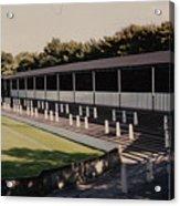 Bury - Gigg Lane - South Stand 1 - 1969 Acrylic Print
