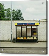 Bus Stop In Poland Acrylic Print