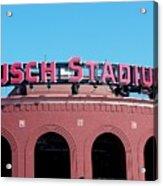 Busch Stadium Ball Park Acrylic Print